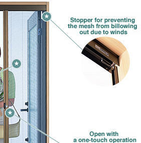 Rolling screen horizontal slide roll screens for doors for Roll out screen door